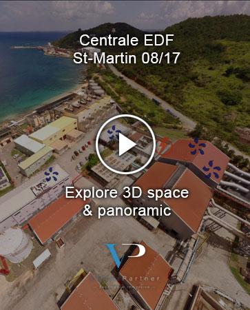 Virtuapartner - Agence innovante - Réalité Virtuelle - EDF St Martin avant le passage de Irma en 09/17